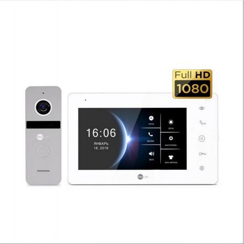 Комплект видеодомофонов Комплект видеодомофона Neolight NeoKIT HD+ Silver