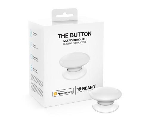 Кнопка управления FIBARO The Button для Apple HomeKit white (белый) - FGBHPB-101-1