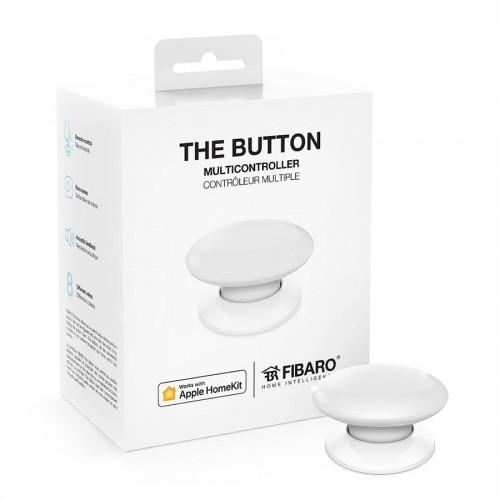 Портативные контроллеры для умного дома Кнопка управления FIBARO The Button для Apple HomeKit white (белый) - FGBHPB-101-1