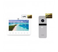Комплект видеодомофона Neolight NeoKIT HD+ Silver