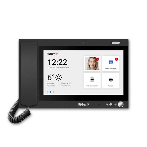 Видеодомофоны цветные Монитор консьержа BAS-IP AM-02 Black