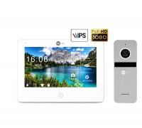 Комплект видеодомофона Neolight NeoKIT HD Pro Silver
