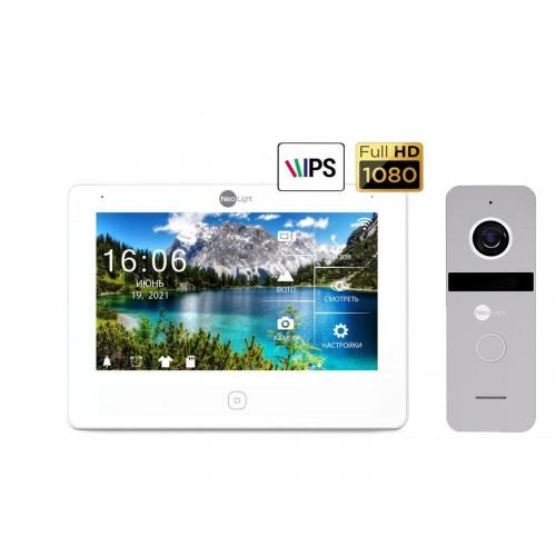 Комплект видеодомофонов Комплект видеодомофона Neolight NeoKIT HD Pro Silver