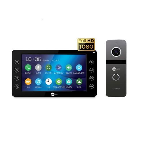 Комплект видеодомофонов Комплект видеодомофона Neolight Kappa+ HD Black / Solo FHD Graphite