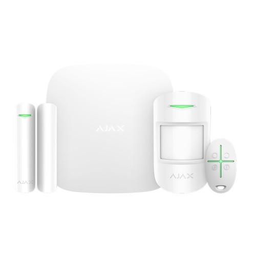 Беспроводные GSM сигнализации Комплект сигнализации Ajax StarterKit Plus белый