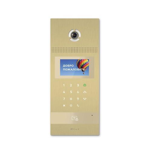 Вызывные панели цветные Многоабонентская вызывная панель Bas-IP AA-12FB GOLD