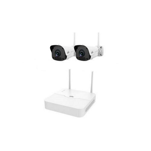 Системы безопасности Комплект видеонаблюдения IP Uniview KIT/NVR301-04LB-W/2*2122SR3-F40W-D
