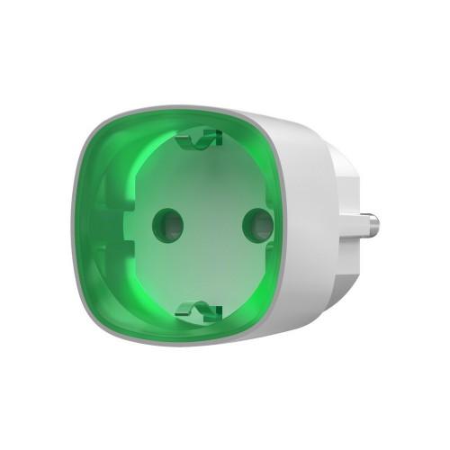 Умная розетка Радиоуправляемая умная розетка со счетчиком энергопотребления Ajax Socket белая