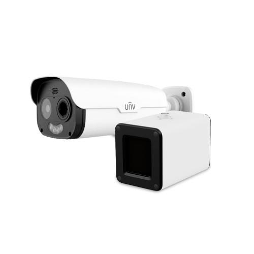 Уличные IP-камеры Оптическая и тепловая IP-видеокамера с возможностью измерения температуры Uniview TIC2531TER5-F10-4F6APCA