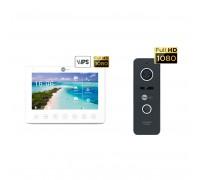 Комплект видеодомофона Neolight NeoKIT HD+ Black
