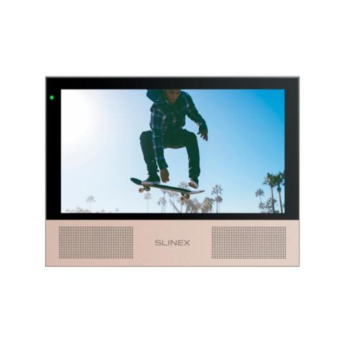 Видеодомофоны цветные Видеодомофон Slinex Sonik 7 Black
