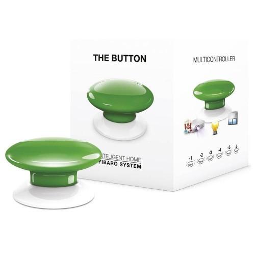 Портативные контроллеры для умного дома Кнопка управления Z-Wave Fibaro The Button green - FGPB-101-5