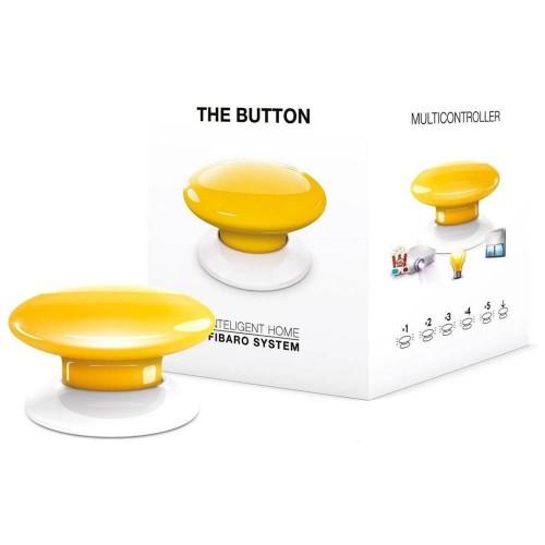 Портативные контроллеры для умного дома Кнопка управления Z-Wave Fibaro The Button yellow - FGPB-101-4