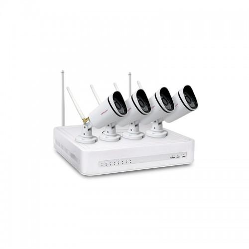 Системы безопасности Комплект видеонаблюдения Foscam FN3104W-B4