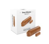Датчик открытия двери/окна и температуры FIBARO Door/Window Sensor 2 Открытия окна/двери Температура (light brown) светло-коричневый