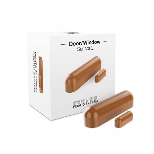 Датчики Датчик открытия двери/окна и температуры FIBARO Door/Window Sensor 2 Открытия окна/двери Температура (light brown) светло-коричневый