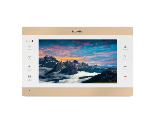 IP-видеодомофон Slinex SL-10IPTHD (gold + white)