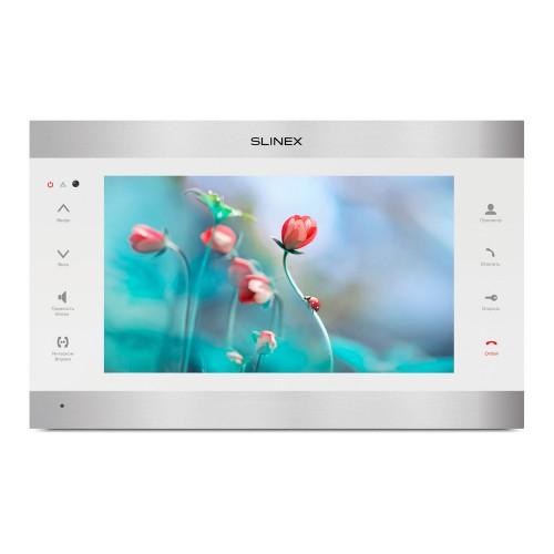 Видеодомофоны цветные IP-видеодомофон Slinex SL-10IPTHD (silver + white)