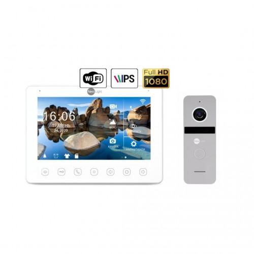 Комплект видеодомофонов Комплект видеодомофона NeoLight NeoKIT HD+ WiFi Silver