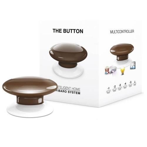 Портативные контроллеры для умного дома Кнопка управления Z-Wave Fibaro The Button brown - FGPB-101-7